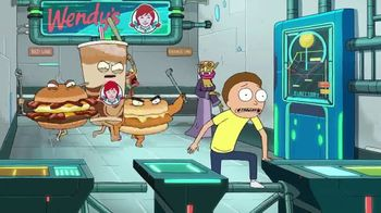 Wendy's Breakfast TV Spot, 'Adult Swim: Rick and Morty'