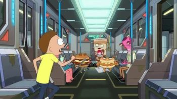 Wendy's Breakfast TV Spot, 'Adult Swim: Rick and Morty' - Thumbnail 9