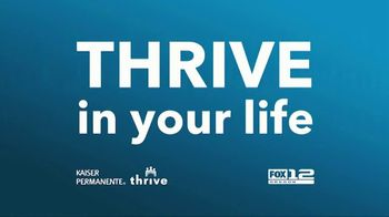 Kaiser Permanente TV Spot, 'THRIVE In Your Life: Tele Health Appointments' - Thumbnail 1
