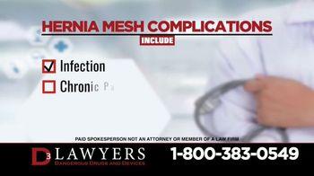 Langdon & Emison Attorneys at Law TV Spot, 'Hernia Mesh Complications' - Thumbnail 3
