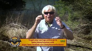 Solar Bat Jimmy Houston Sunglasses TV Spot, 'Deal for You' - Thumbnail 8