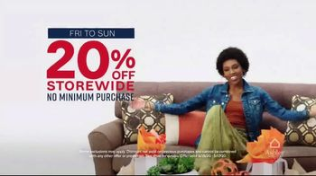 Ashley HomeStore Memorial Day Sale TV Spot, 'Special Financing: 20 Percent Off'