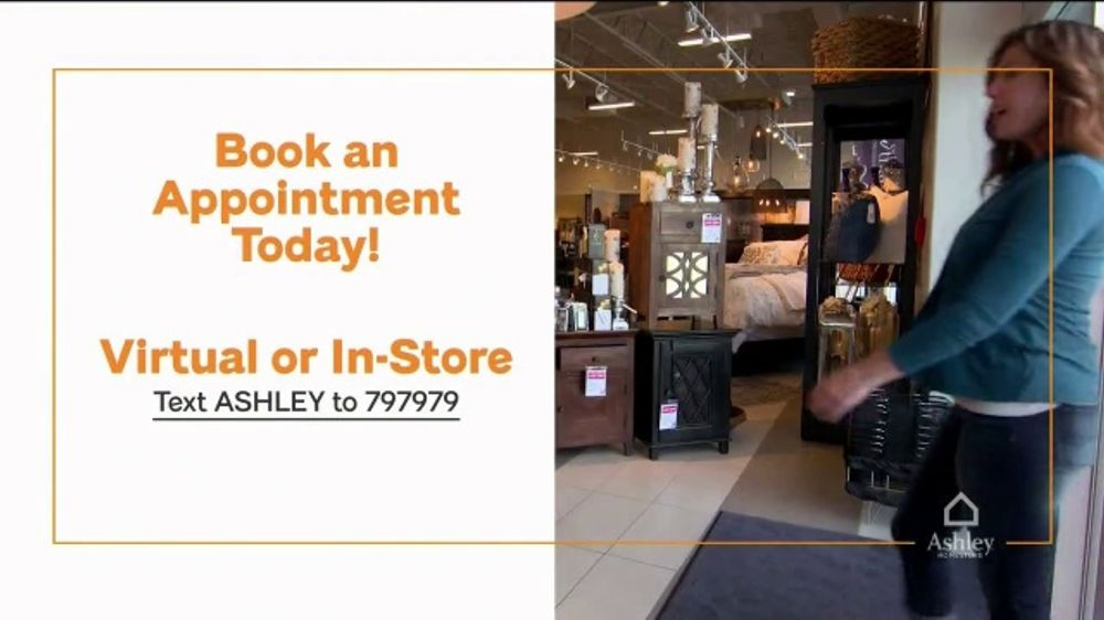 Ashley Homestore Memorial Day Sale Tv Commercial 50 Percent Off Virtual Appointment Ispot Tv