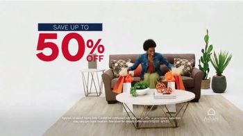 Ashley HomeStore Memorial Day Sale TV Spot, '50 Percent Off: Virtual Appointment' - Thumbnail 3