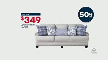 Ashley HomeStore Memorial Day Sale TV Spot, '50 Percent Off: Virtual Appointment' - Thumbnail 4