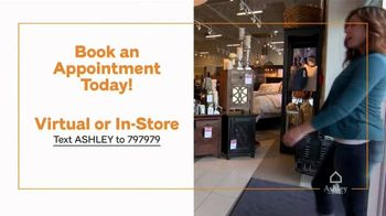 Ashley HomeStore Memorial Day Sale TV Spot, '50 Percent Off: Virtual Appointment' - Thumbnail 6