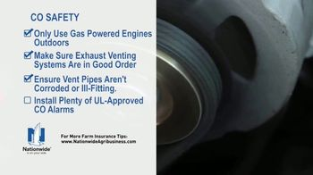 Nationwide Agribusiness TV Spot, 'Carbon Monoxide Safety Tips' - Thumbnail 6