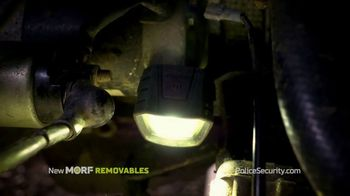 Police Security Flashlights Morf Removables TV Spot, 'Stays Lit' Song by Johann Strauss II - Thumbnail 2