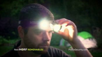 Police Security Flashlights Morf Removables TV Spot, 'Stays Lit' Song by Johann Strauss II - Thumbnail 4
