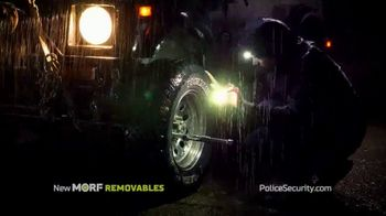 Police Security Flashlights Morf Removables TV Spot, 'Stays Lit' Song by Johann Strauss II - Thumbnail 5
