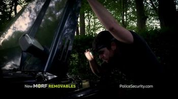 Police Security Flashlights Morf Removables TV Spot, 'Stays Lit' Song by Johann Strauss II - Thumbnail 7