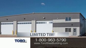 Toro Steel Building Inventory Sell-Off TV Spot, 'Perfect' - Thumbnail 1