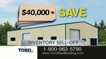 Toro Steel Building Inventory Sell-Off TV Spot, 'Perfect' - Thumbnail 2