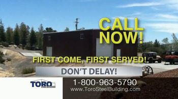 Toro Steel Building Inventory Sell-Off TV Spot, 'Perfect' - Thumbnail 6
