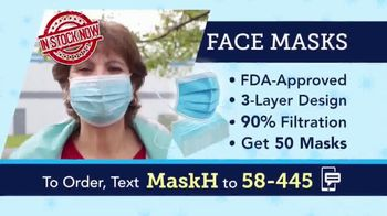 58-445 Face Masks TV Spot, 'Protective Face Masks' - Thumbnail 5