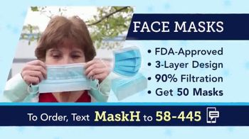 58-445 Face Masks TV Spot, 'Protective Face Masks' - Thumbnail 2
