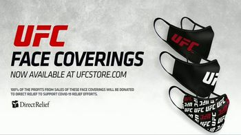 Ultimate Fighting Championship TV Spot, 'UFC Face Coverings Available' - Thumbnail 2