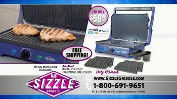 Blue Diamond Pan Sizzle Griddle TV Spot, 'The Secret Is the Sizzle' - Thumbnail 10