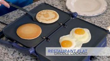 Blue Diamond Pan Sizzle Griddle TV Spot, 'The Secret Is the Sizzle' - Thumbnail 2