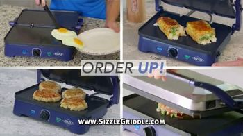 Blue Diamond Pan Sizzle Griddle TV Spot, 'The Secret Is the Sizzle'