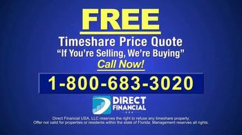Direct Financial USA TV Spot, 'Buying Timeshares for Cash' - Thumbnail 7