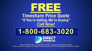 Direct Financial USA TV Spot, 'Buying Timeshares for Cash' - Thumbnail 8