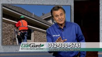 LeafGuard of Chicago $99 Install Sale TV Spot, 'Old Gutters Can Do Damage'