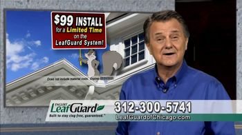 LeafGuard of Chicago $99 Install Sale TV Spot, 'Old Gutters Can Do Damage' - Thumbnail 6