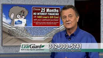 LeafGuard of Chicago $99 Install Sale TV Spot, 'Old Gutters Can Do Damage' - Thumbnail 7