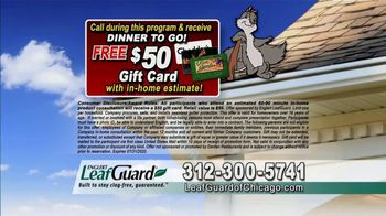 LeafGuard of Chicago $99 Install Sale TV Spot, 'Old Gutters Can Do Damage' - Thumbnail 8