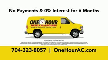 One Hour Heating & Air Conditioning TV Spot, 'Uncertain Times: Deferred Payments' - Thumbnail 9