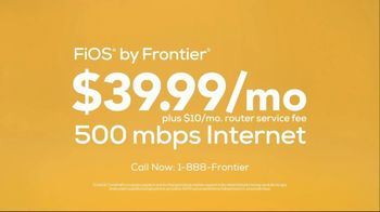 FiOS by Frontier TV Spot, 'Speed Freaks: $10 Router Service Fee' - Thumbnail 7