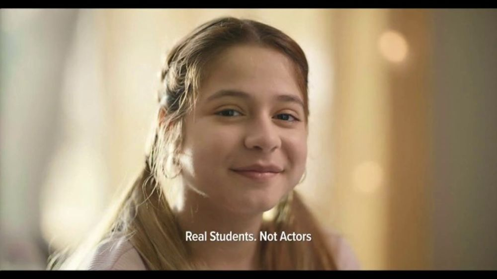 K12 TV Commercial, 'Education for Any ONE: Where I Need to Be'
