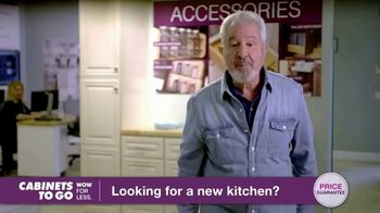 Cabinets To Go TV Spot, 'Looking for New Kitchen Cabinets' Featuring Bob Vila - Thumbnail 1