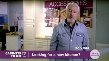 Cabinets To Go TV Spot, 'Looking for New Kitchen Cabinets' Featuring Bob Vila - Thumbnail 2