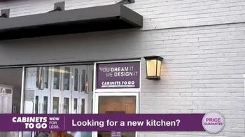 Cabinets To Go TV Spot, 'Looking for New Kitchen Cabinets' Featuring Bob Vila - Thumbnail 5