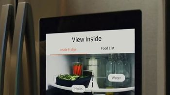 Samsung Home Appliances TV Spot, 'Connected Appliances: Recipes'