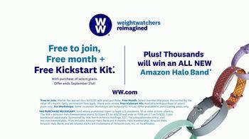 WW App TV Spot, 'HiFi: Triple Play: Kickstart Kit: Amazon Halo Band' Featuring Oprah Winfrey - Thumbnail 8