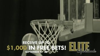 ELITE Sportsbook TV Spot, 'Free Bets'
