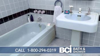 BCI Bath & Shower TV Spot, 'Old and Worn Out: $500 Off First 100 Callers' - Thumbnail 1