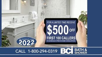 BCI Bath & Shower TV Spot, 'Old and Worn Out: $500 Off First 100 Callers' - Thumbnail 5