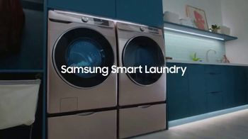 Samsung Smart Laundry TV Spot, 'Connected Appliances: Laundry' Song by Beginners & Freedo - Thumbnail 8
