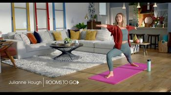 Rooms to Go TV Spot, 'Make the Most of Every Space' Featuring Julianne Hough