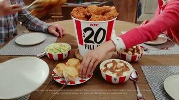 KFC $20 Fill Up TV Spot, 'Homestyle Cookin' Without the Cookin: Contactless Delivery' - Thumbnail 3