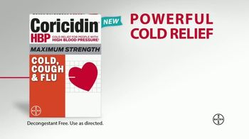 Coricidin HBP Cold, Cough & Flu TV Spot, 'Not Just a Cold' - Thumbnail 8