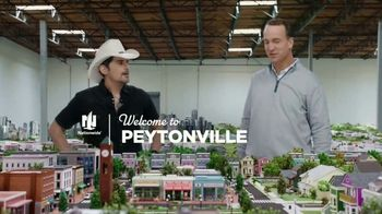 Nationwide Insurance TV Spot, 'Welcome to Peytonville: Financial Futures' Featuring Peyton Manning, Brad Paisley - Thumbnail 1