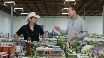 Nationwide Insurance TV Spot, 'Welcome to Peytonville: Financial Futures' Featuring Peyton Manning, Brad Paisley