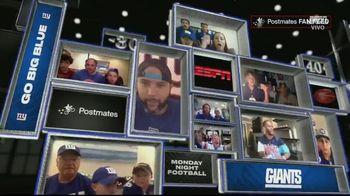 Postmates TV Spot, 'MNF Week 1: Fan Feeds' [Spanish]