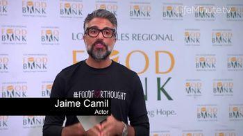 LifeMinute TV TV Spot, 'Food for Thought Initiative' Featuring Matt Bomer, Jaime Camil - Thumbnail 6