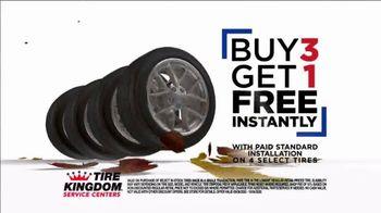 Tire Kingdom Fall Savings TV Spot, 'Buy Three, Get One Free' - Thumbnail 5